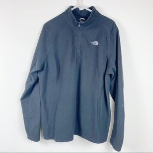 The North Face  TKA 100 Glacier 1/4 Zip Black XXL
